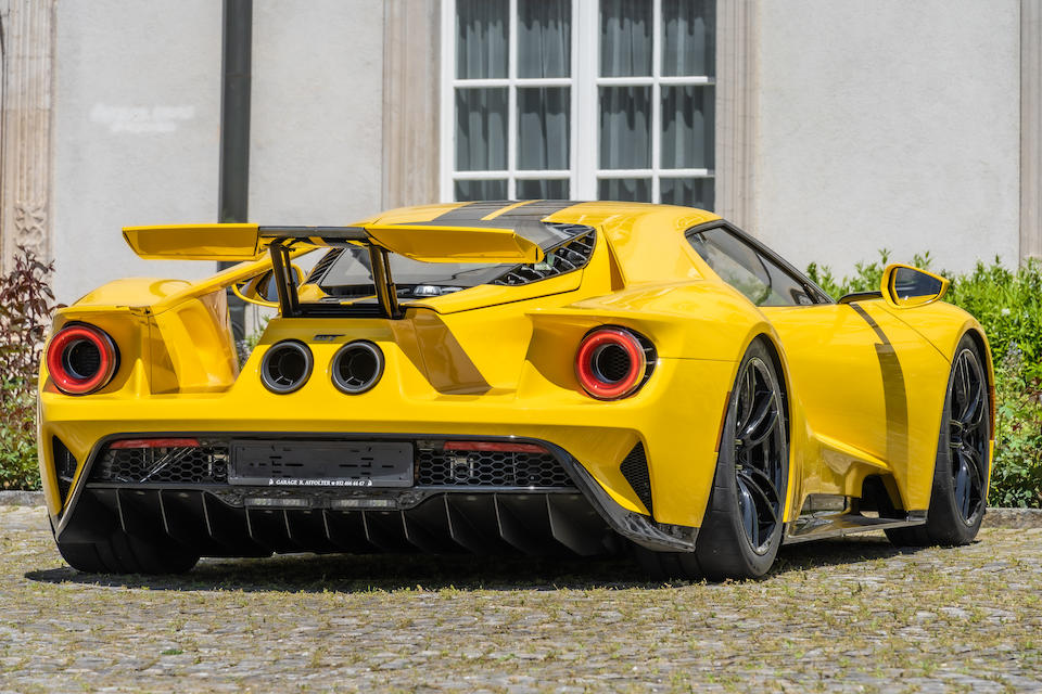 2020 Ford GT  Chassis no. 2FAGP9CW5JH100127