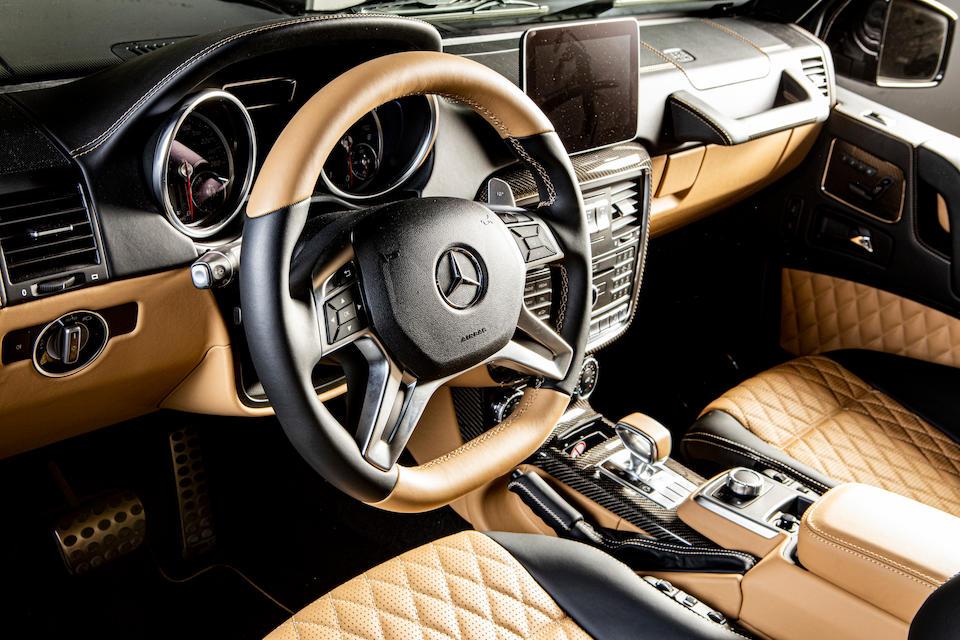 2018 Mercedes-Benz G650 Maybach Landaulet  Chassis no. WDCYC7EF4JX292142