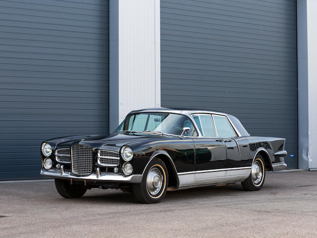 1961 Facel Vega Excellence Sports Saloon  Chassis no. EX1 B102 Engine no. TY7-1104-1