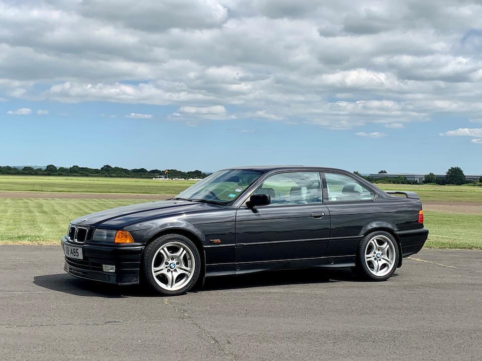1993 BMW 3-Series (E36) 325i Coupé  Chassis no. WBABF32090JB01683