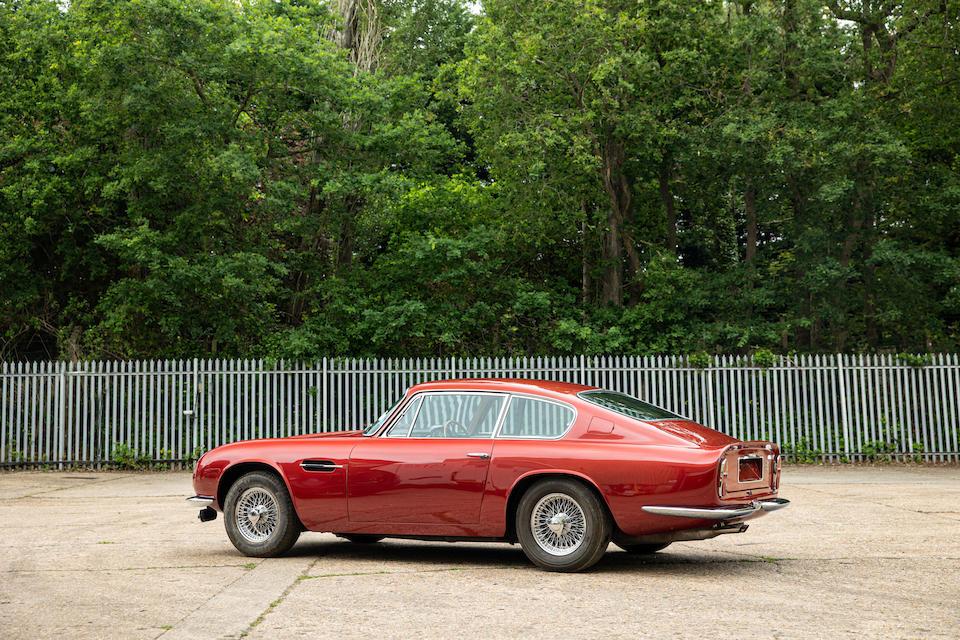 1970 Aston Martin DB6 Mk2 Vantage Sports Saloon  Chassis no. DB6Mk2/4255/R Engine no. 400/4598/VC