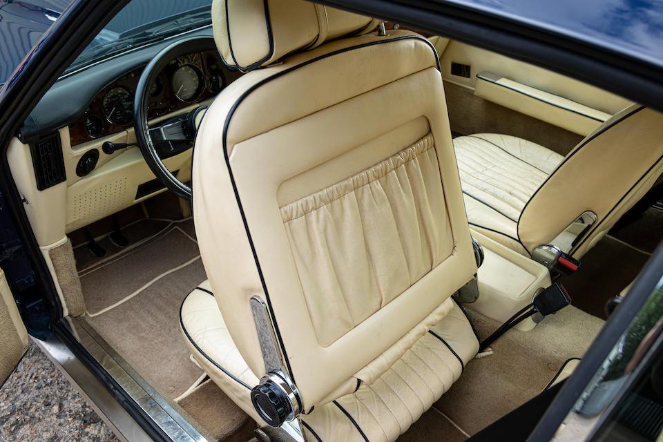 1981 Aston Martin V8 'Oscar India' Sports Saloon  Chassis no. V8SOR12220