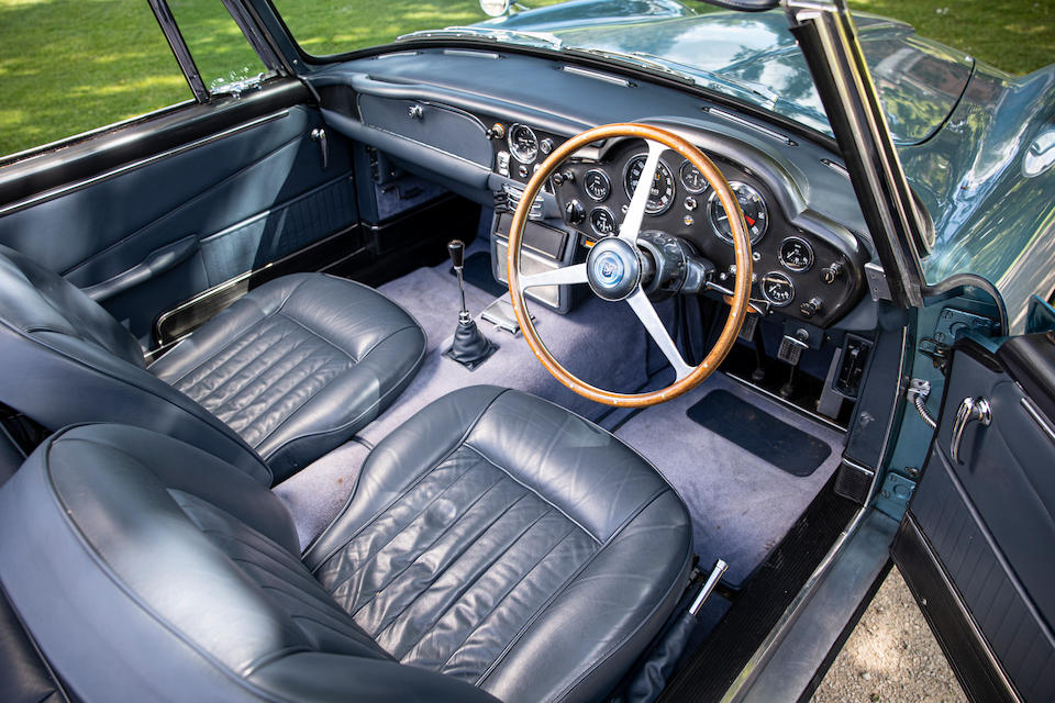 The ex-Peter Sellers, The Earl of Snowdon/HRH Princess Margaret, Viscount Linley,,1964 Aston Martin DB5 Convertible  Chassis no. DB5C/1512/R
