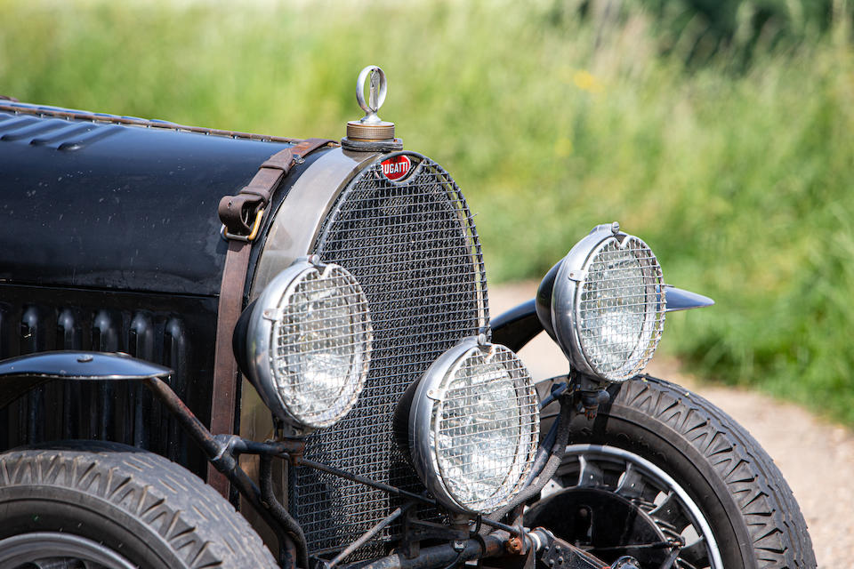 In current lady's ownership since 1979,1930 Bugatti Type 49 Open Tourer  Chassis no. BC149