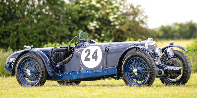 The ex-factory Grand Prix team car,1936 Riley 1½-Litre TT Sprite Competition Sports  Chassis no. 22T1750