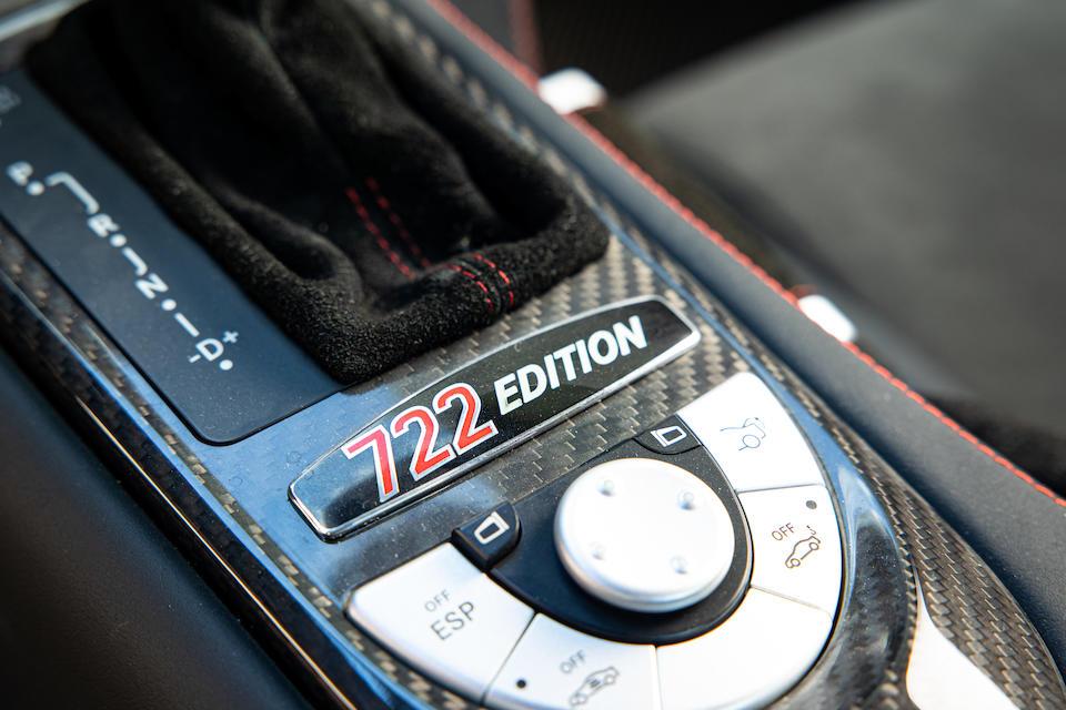 2007 Mercedes-Benz SLR McLaren 722 Edition Coupé  Chassis no. WDD1993761M001241