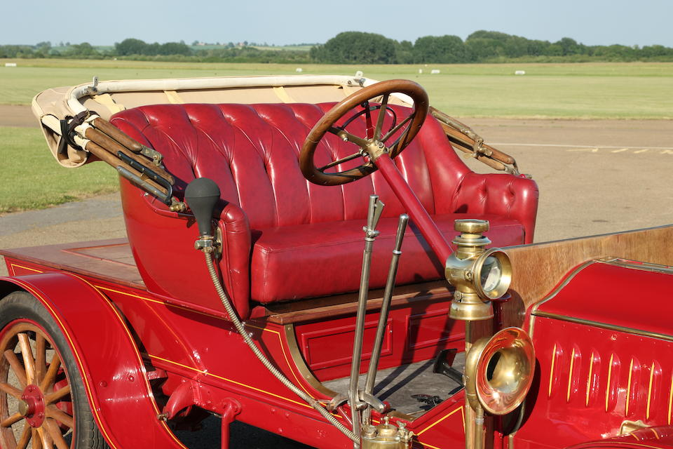 1912 De Dion Bouton DH Two-Seater  Chassis no. 34