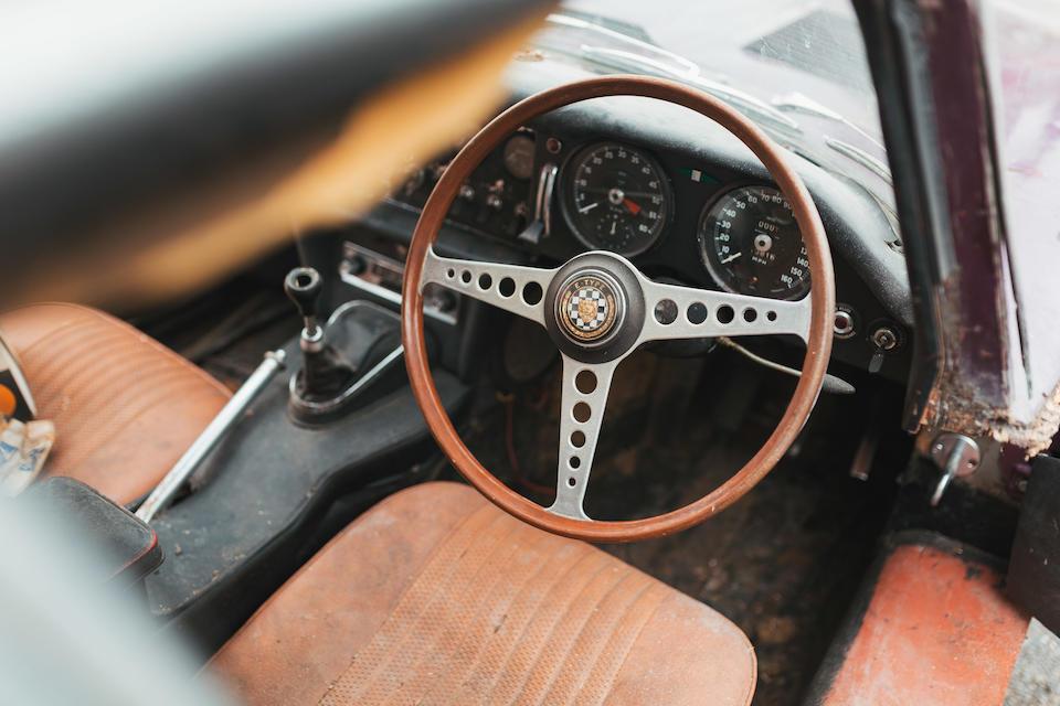 1961 Jaguar E-Type Series I Coupé Project  Chassis no. 860418