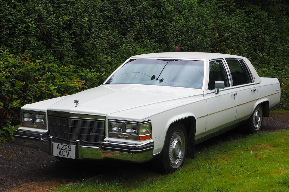 1984 Cadilac Fleetwood Coupe  Chassis no. 1G6AW6989E9066901