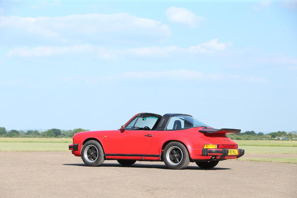 1988 Porsche 911 3.2 Carrera Targa  Chassis no. WP0ZZZ91ZJS141127
