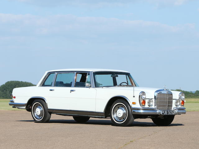 1966 Mercedes-Benz 600 SWB 'Grosser'  Chassis no. 100011212000829