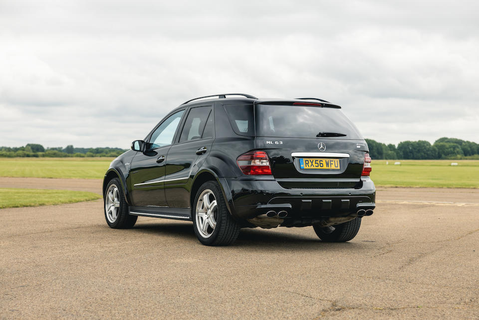 2006 Mercedes-Benz ML63 AMG  Chassis no. WDC1641772A181599