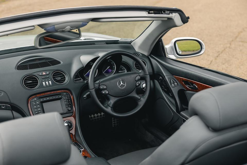 2003 Mercedes-Benz SL500  Chassis no. WDB10704222012947
