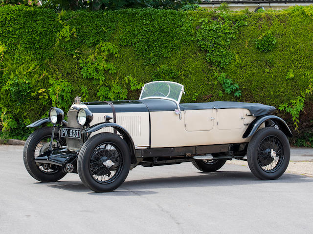 The ex-Tim Rose-Richards/Cecil Randall,1929 Lagonda 2-Litre 'Low Chassis' Tourer  Chassis no. 9411