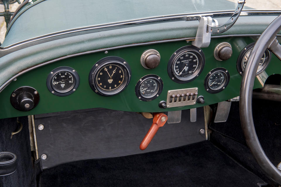 The ex-Tim Rose-Richards/Hon. Brian Lewis 1929 Le Mans 24-Hour race,1929 Lagonda 2-Litre 'Low Chassis' Tourer  Chassis no. 9413