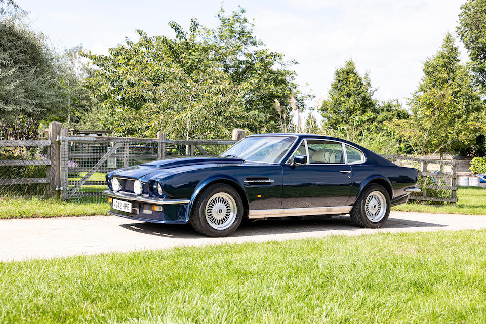 The Stan West Collection,1984 Aston Martin V8 Vantage Sports Saloon  Chassis no. SCFCV81V9ETR12415