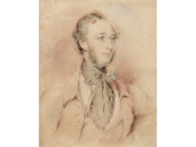 Thomas Griffiths Wainewright (British, 1794-1847) Robert Kennedy Nuttall, 1842