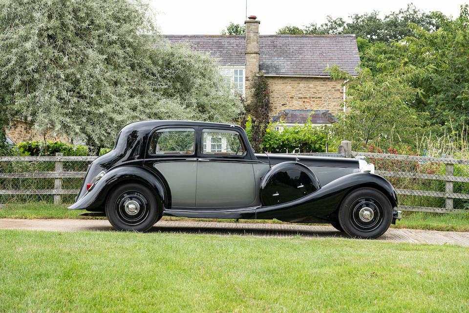 The Stan West Collection,1937 Lagonda LG45 Saloon De Ville  Chassis no. 12257/G/10