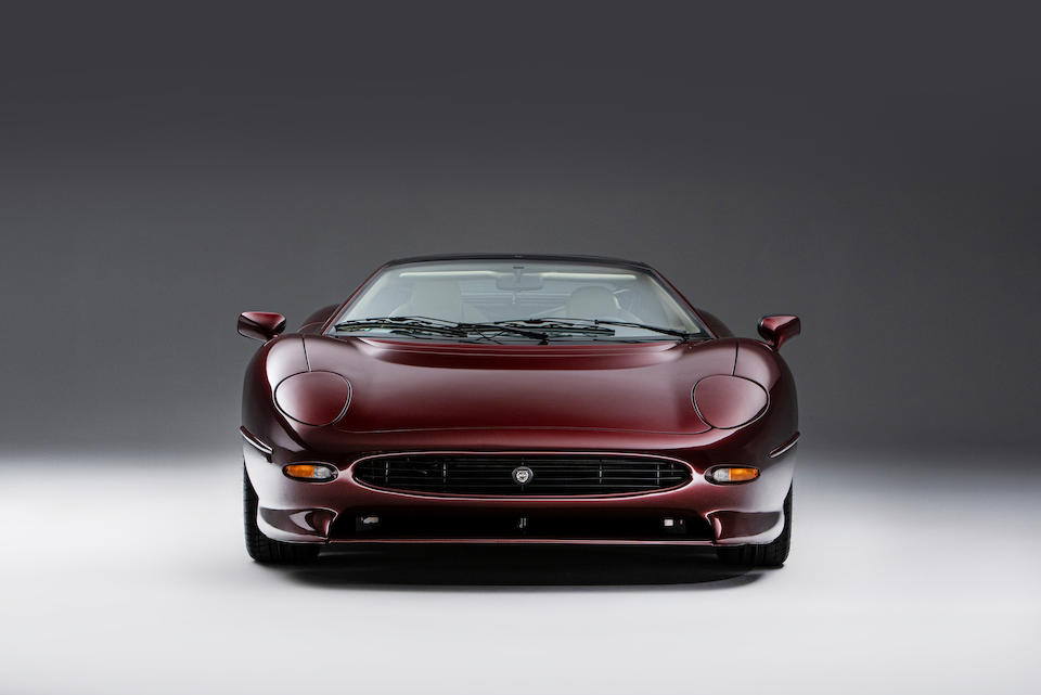 circa 400 miles from new, Don Law Racing prepared ,1993 Jaguar XJ220 Coupé  Chassis no. SAJJEAEX8AX220778