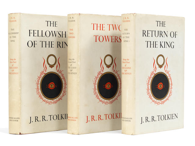 TOLKIEN (J.R.R.) The Lord of the Rings, 3 vol., FIRST EDITION, FIRST IMPRESSIONS, George Allen and Unwin, 1954-1955