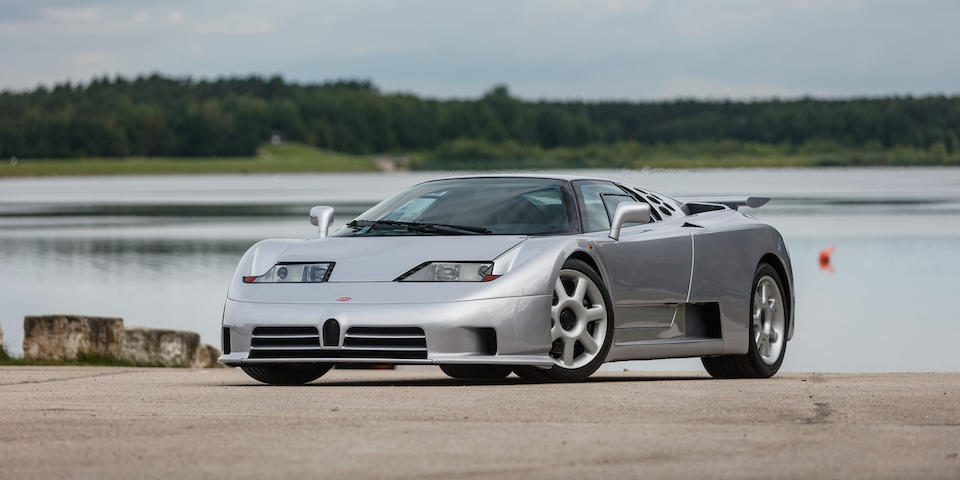 One of only 30 production EB110 SS examples built,1994 Bugatti EB110 Super Sport Coupé  Chassis no. ZA9BB02E0PCD39011
