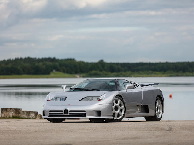 One of only 30 production EB110 SS examples built,1994 Bugatti EB110 Super Sport Coupé  Chassis no. ZA9BB02E0RCD39011