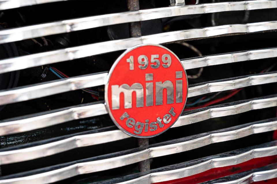 1959 Austin Mini Se7en Saloon  Chassis no. AA2S7L 3904