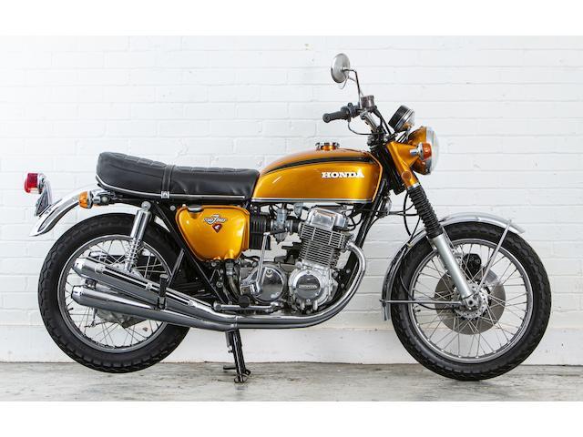 1971 Honda CB750 K1 Frame no. CB750-1054584 Engine no. CB750E-1052011