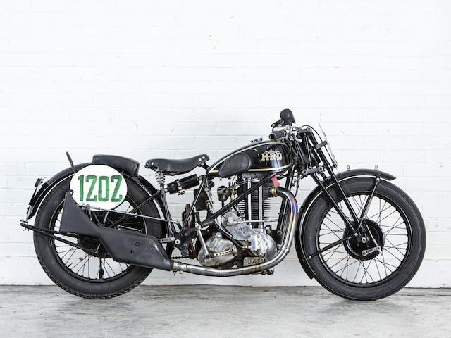 Property of a deceased's estate, c.1931 Vincent-HRD 500cc Two-Port OHV Sports Model Frame no. P418 (see text) Engine no. KOZ/H 11191