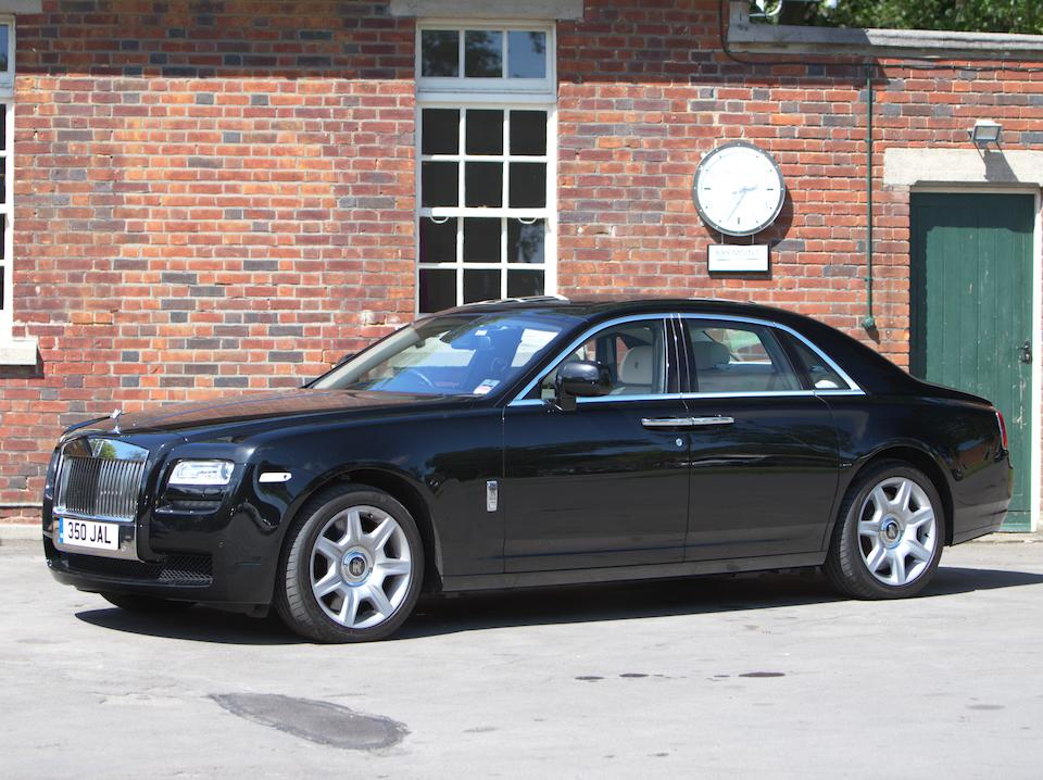 2012  Rolls-Royce Ghost Saloon  Chassis no. SCA664S07BUH15392 Engine no. 90164954