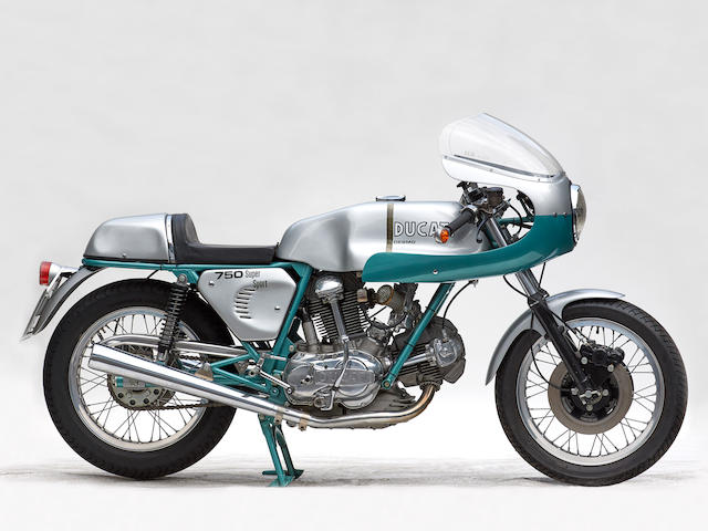 The Hans Schifferle Collection, 1974 Ducati 750SS Frame no. DM750SS *075105 Engine no. 075122 DM750.1