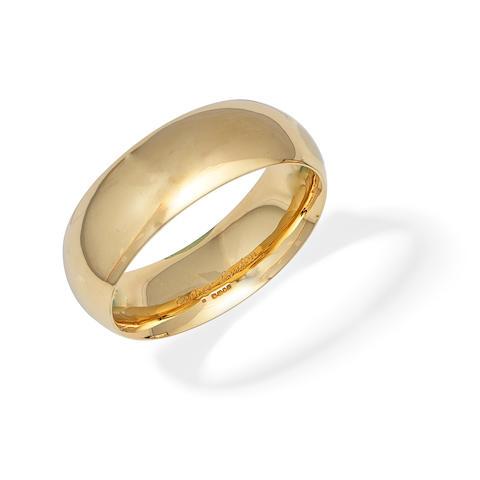CARTIER: GOLD BANGLE,