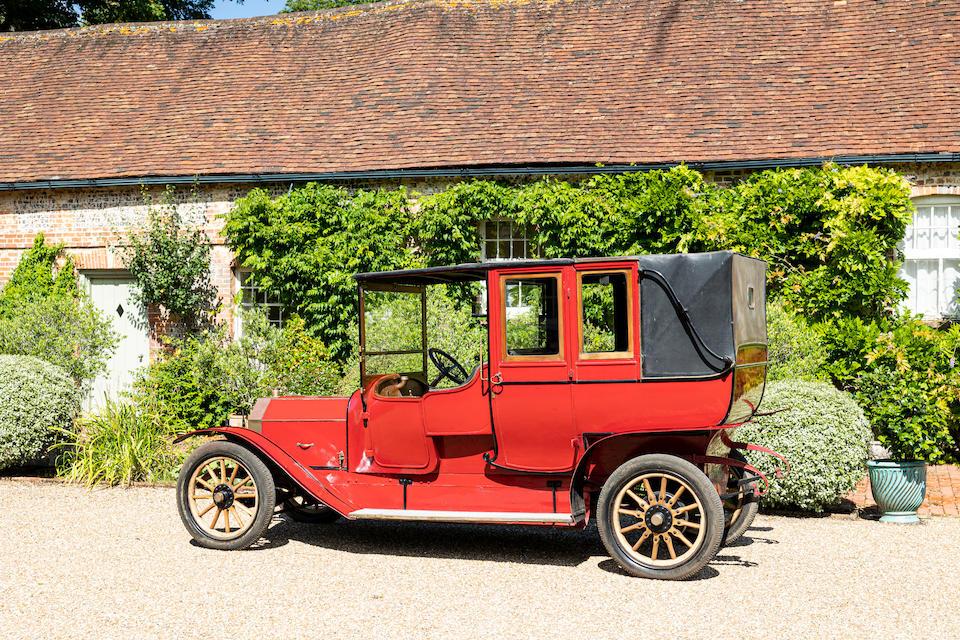 1910 Rochet-Schneider 18hp Series 9300 Open-drive Landaulet  Chassis no. 10736