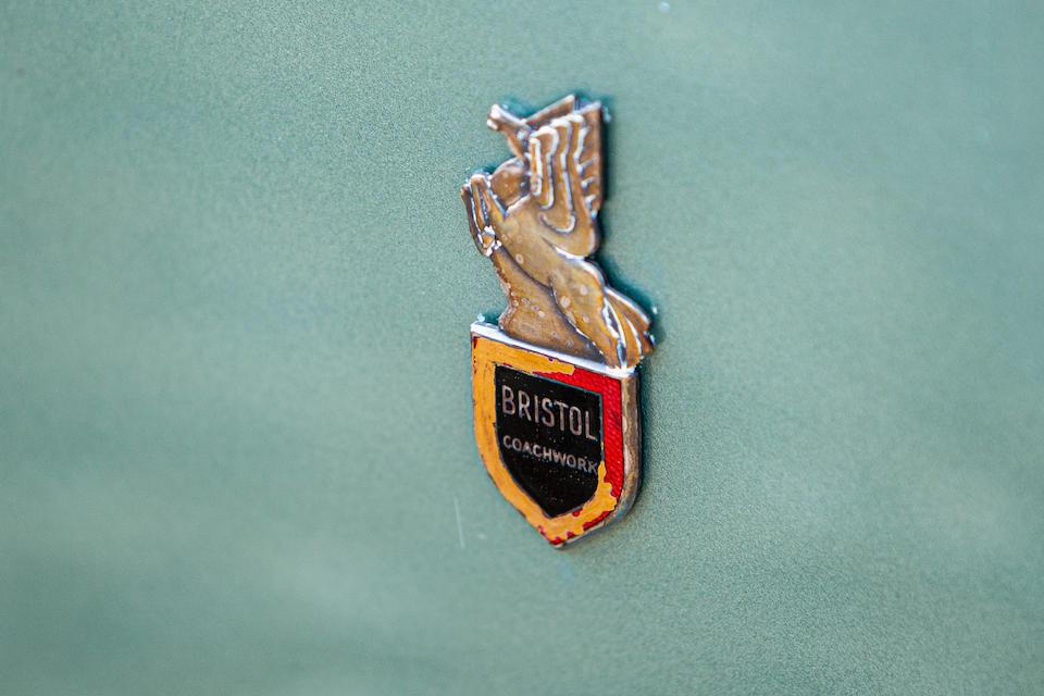Ex-Jean Simmons,1959 Bristol 402 Drophead Coupé  Chassis no. 402/704