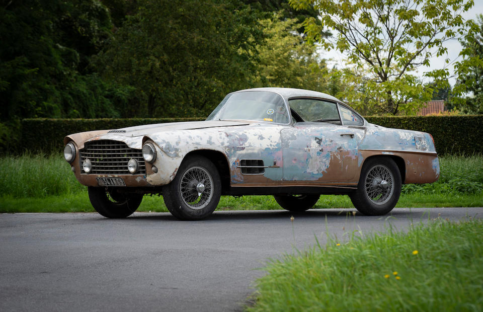 The 1956 Paris Motor Show,1955 Jaguar XK 140 Coupé  Chassis no. 810827DN