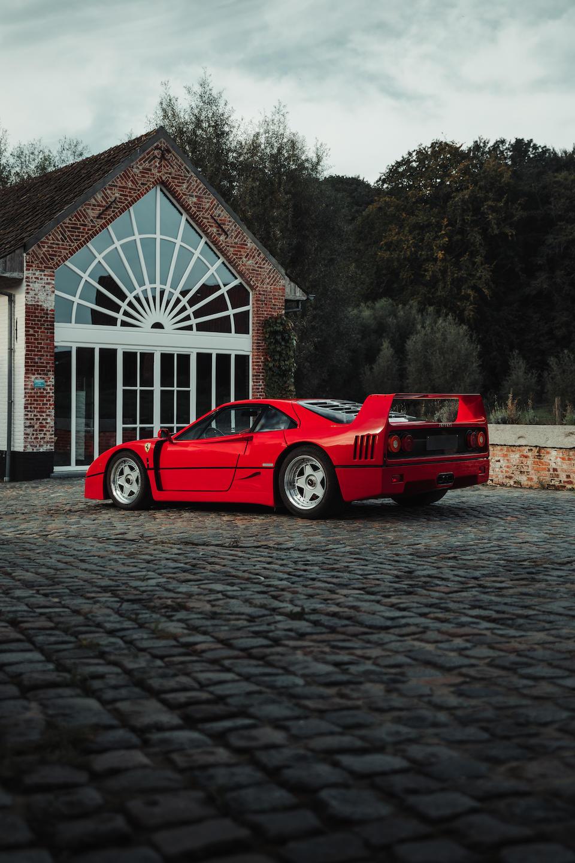 One owner from new,1989 Ferrari F40 Berlinetta  Chassis no. ZFFGJ34B000083620