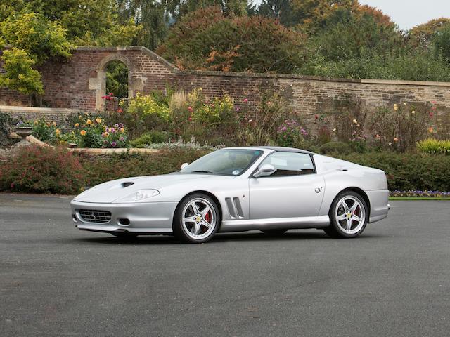 2005 Ferrari 575 Superamerica 6-speed manual  Chassis no. ZFFGT61B000145743 Engine no. 101218